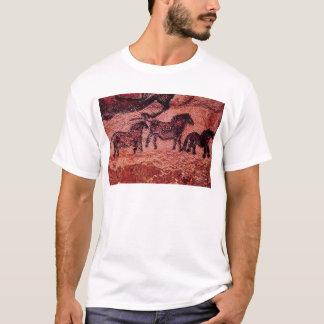 Rock painting of tarpans , c.17000 BC T-Shirt