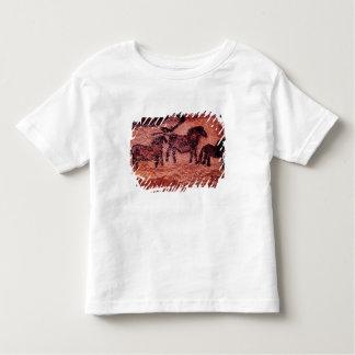 Rock painting of tarpans , c.17000 BC Toddler T-shirt