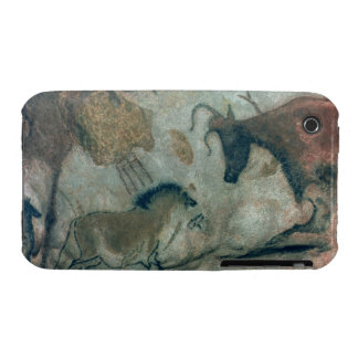 Rock painting showing a horse and a cow, c.17000 B Case-Mate iPhone 3 Case