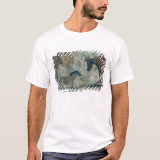 Rock painting showing a horse and a cow, c.17000 B T-Shirt
