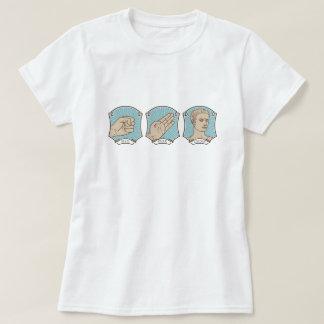 Rock, Paper, Caesar Funny Word Pun T-Shirt