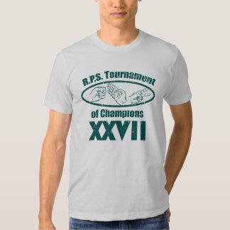 Rock Paper Scissor Tournament of Champs T-Shirt