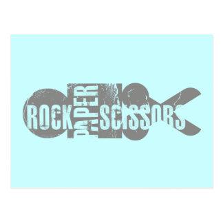 Rock Paper Scissors 1 Postcard
