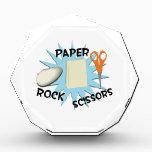 "Rock Paper Scissors Award<br><div class=""desc"">Scissors cut Paper, Paper covers Rock, Rock crushes Scissor.</div>"