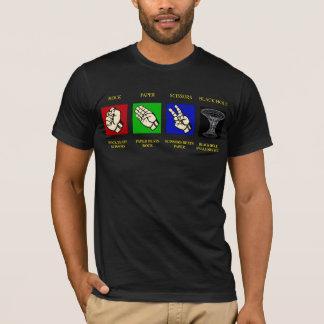 ROCK-PAPER-SCISSORS-BLACK HOLE T-Shirt