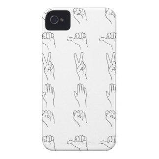Rock, Paper, Scissors, Bomb iPhone 4 Case-Mate Cases