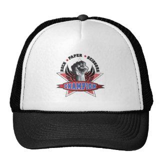Rock, Paper, Scissors Champion Trucker Hat
