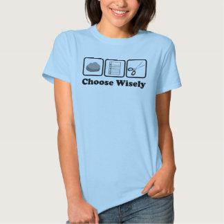 Rock Paper Scissors (Choose Wisely) T-shirt