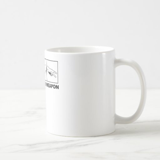 Rock Paper Scissors Choose Your Weapon Coffee Mug