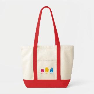Rock, Paper, Scissors Game Bag