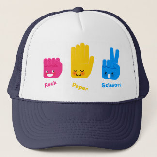 Rock, Paper, Scissors Game Hat