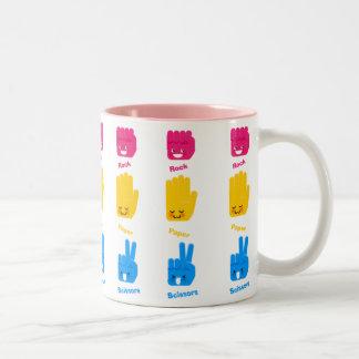 Rock, Paper, Scissors Game Mug