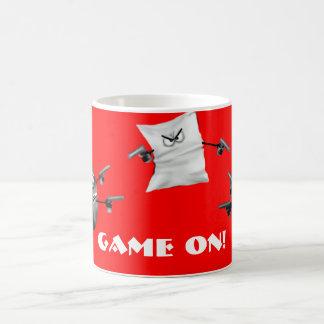 rock paper scissors, Game ON! Classic White Coffee Mug