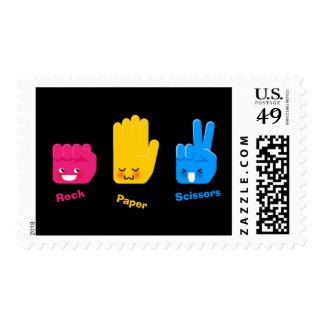 Rock, Paper, Scissors Game Postage