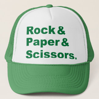Rock & Paper & Scissors Hat
