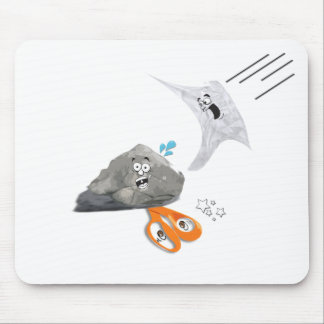 Rock-paper-scissors Mouse Pad