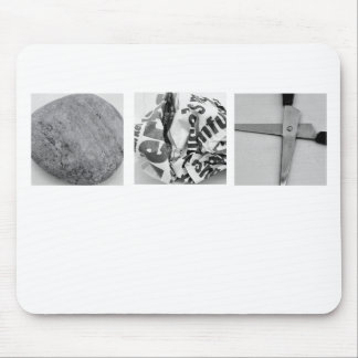 Rock Paper Scissors Mousepad