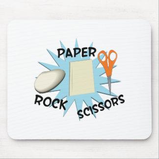 Rock Paper Scissors Mouse Pads