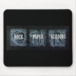 Rock Paper Scissors Mouse Pad