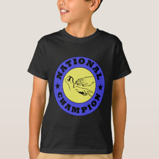 Rock Paper Scissors National Champion T-Shirt