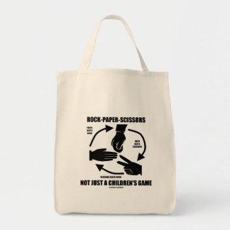Rock-Paper-Scissors Not Just A Children's Game Bag