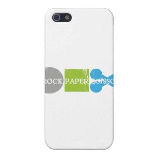 Rock Paper Scissors Play iPhone 5 Cases