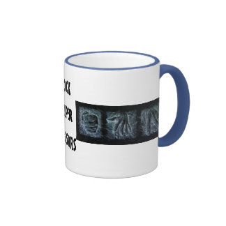 Rock Paper Scissors Ringer Coffee Mug