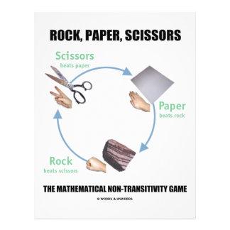 Rock, Paper, Scissors (Rochambeau) Flyer