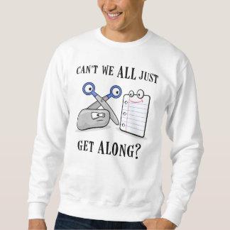 Rock-Paper-Scissors Sweatshirt