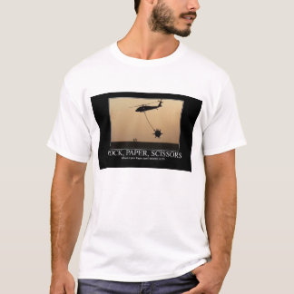 Rock Paper Scissors: Where is your paper now??? T-Shirt