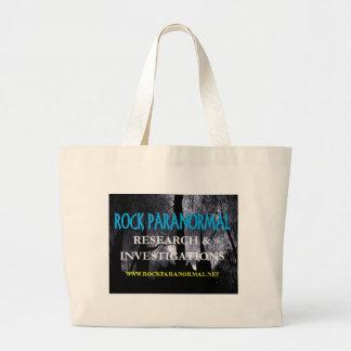 Rock Paranormal Logo Items Jumbo Tote Bag