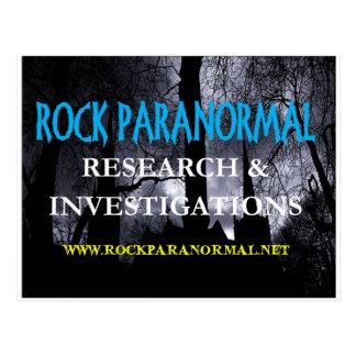 Rock Paranormal Logo Wear Postcard