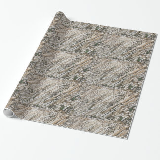 Rock pattern wrapping paper