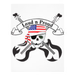 "Rock Pirate USA Style 8.5"" X 11"" Flyer"