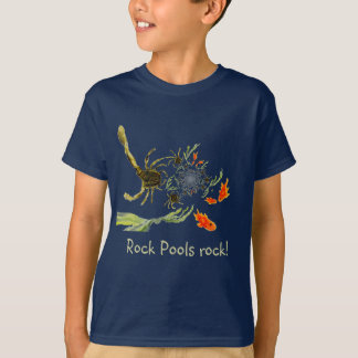 Rock Pool crabs and fish fun T-Shirt