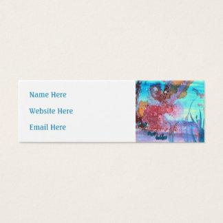 Rock Pool. Mini Business Card
