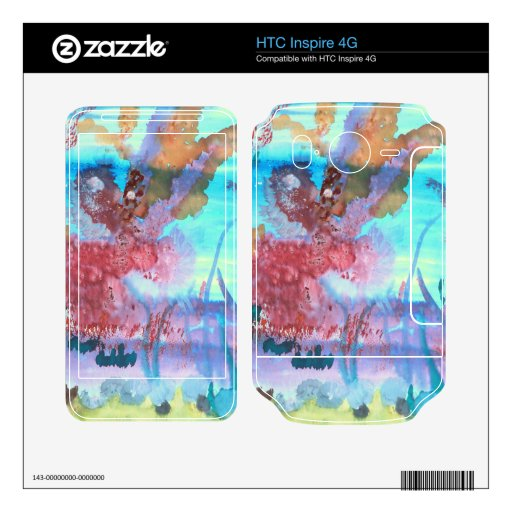 Rock Pool. Skins For HTC Inspire 4G