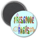 Rock preescolares - estrellas imanes para frigoríficos