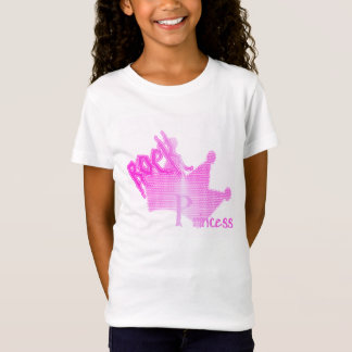Rock Princess - Girls Baby Doll (Fitted) T-Shirt