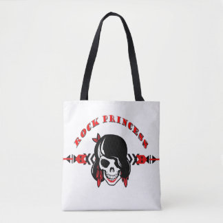 Rock Princess Tote Bag