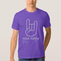 Rock Purple Tee Shirt