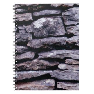rock puzzle notebook