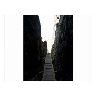 Rock ravine postcard