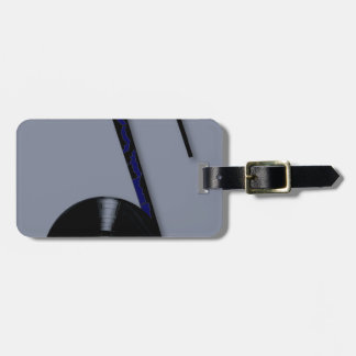 Rock Record Note Luggage Tag