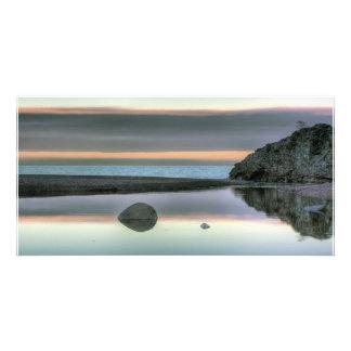 Rock Reflection Custom Photo Card