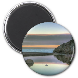 Rock Reflections 2 Inch Round Magnet