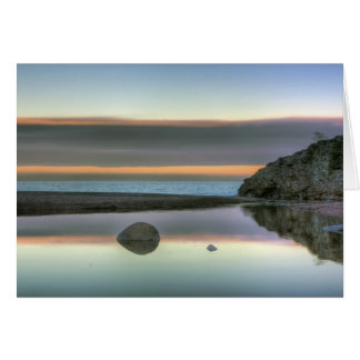 Rock Reflections Stationery Note Card