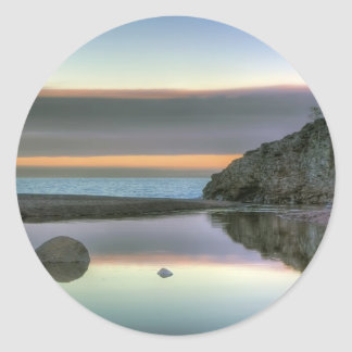 Rock Reflections Classic Round Sticker
