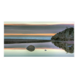 Rock Reflections Photo Card