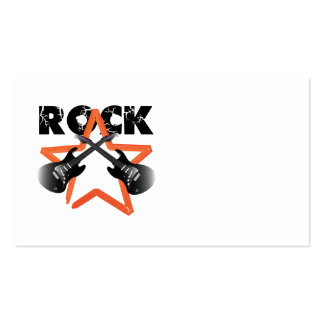 Rock revolution Double-Sided standard business cards (Pack of 100)